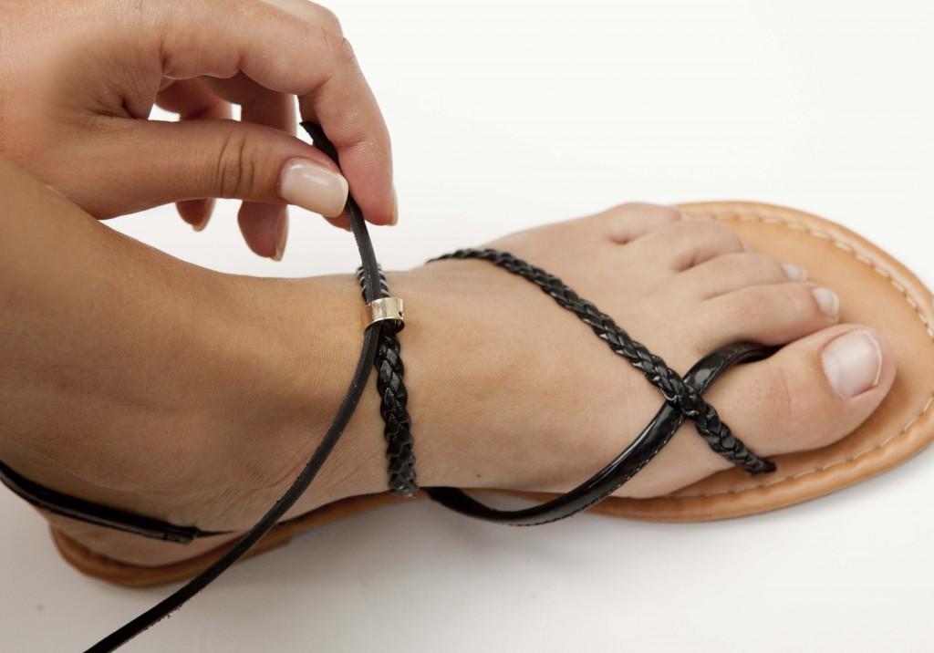 DIY sandals 3