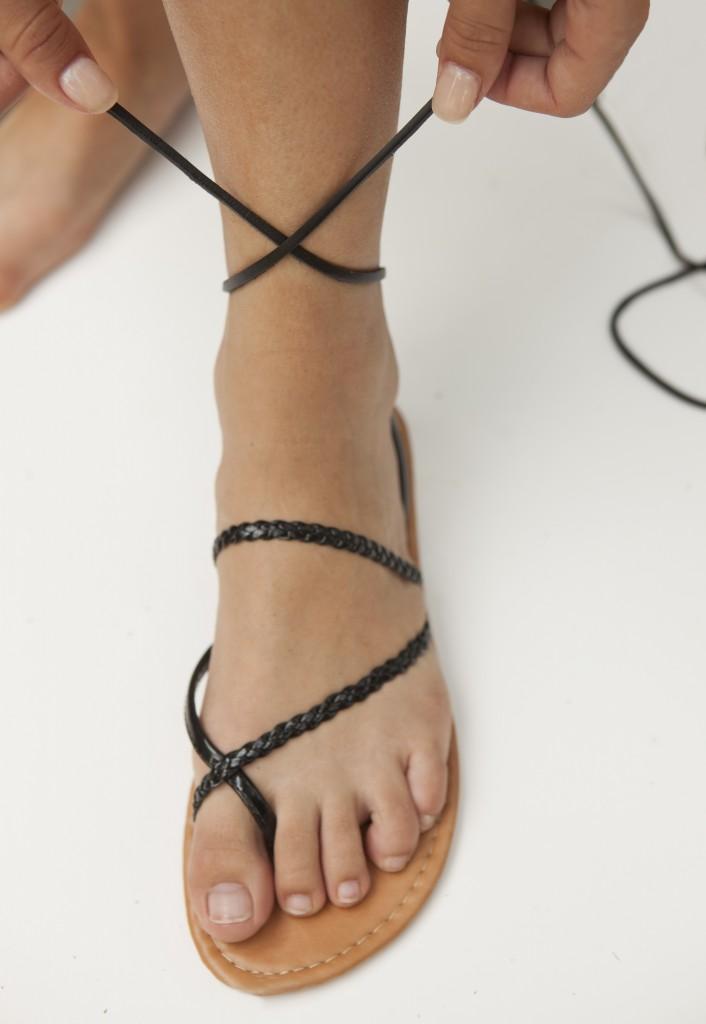 DIY sandals 4