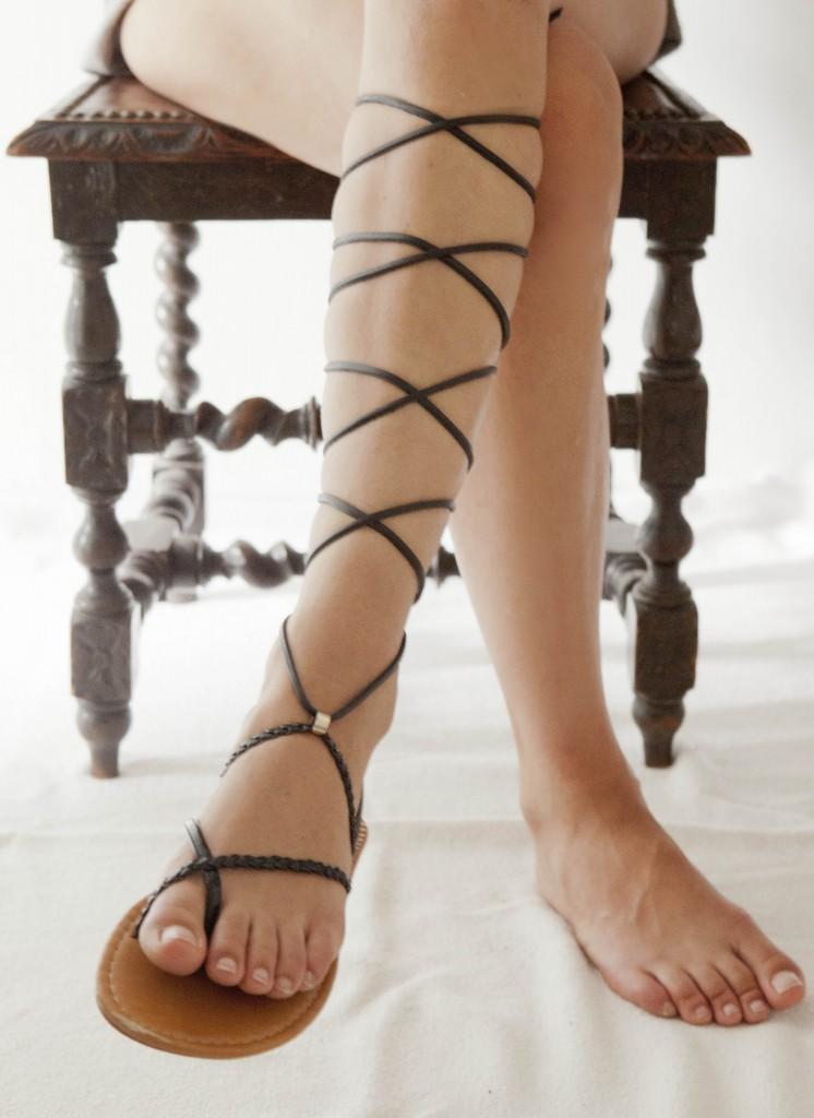 DIY sandals 5